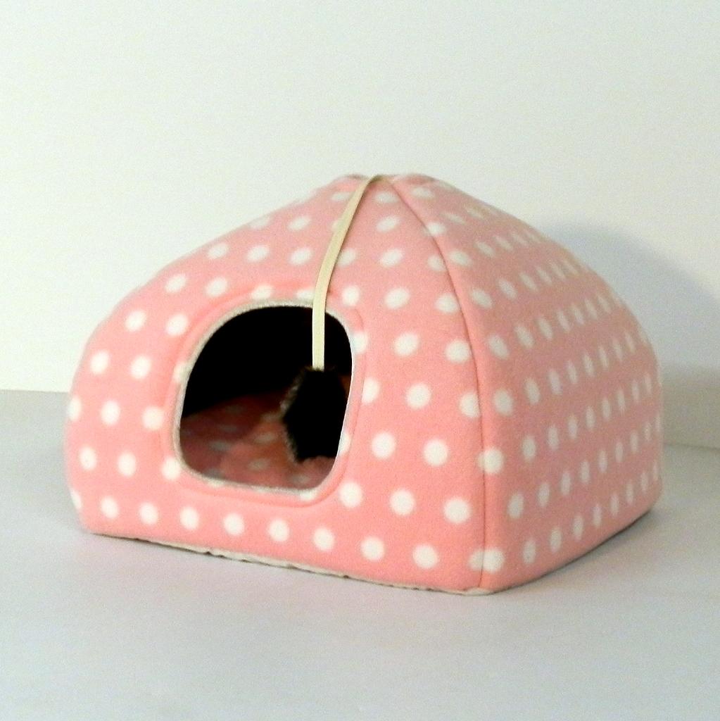 Kissapeti pesä pinkki